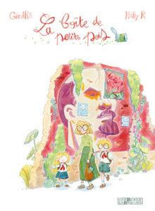 Image de couverture de la BD La boite de petit pois